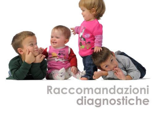 Raccomandazioni diagnostiche