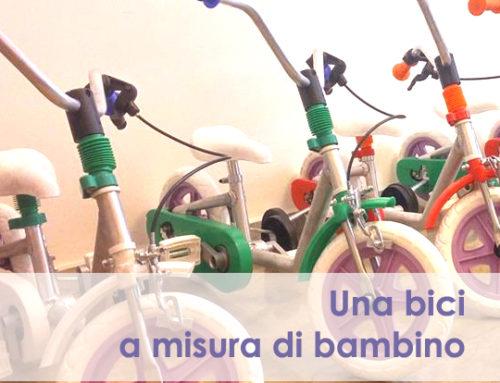 """Progetto """"una bici a misura di bambino"""""""