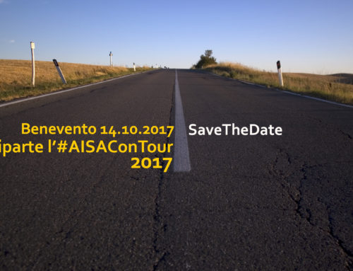 Riparte l'#AISAConTOUR da Benevento il 14.10.2017 #SaveTheDate