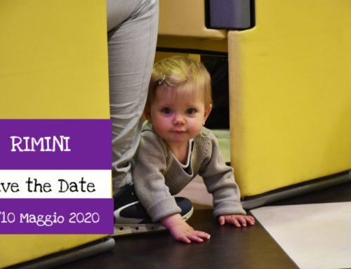 Save the Date: 9/10 Maggio 2020 Rimini