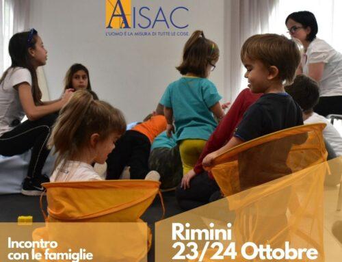 Rimini 23/24 ottobre 2021: incontro con le famiglie e gli adulti